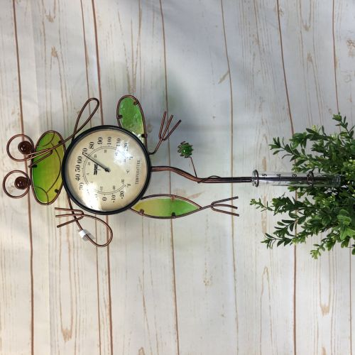Frog Rain Gauge/ Thermometer