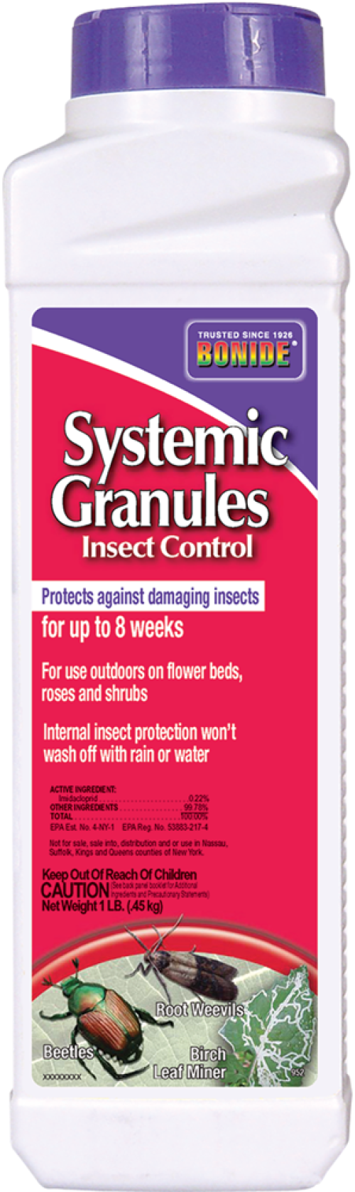 Systemic Granules Insect Control