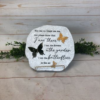 Butterfly Cut out stepping stone